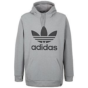 adidas Team Tech Kapuzenpullover Herren grau / schwarz