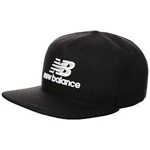 NEW BALANCE 3D Logo Cap schwarz / weiß