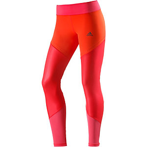 adidas Tights Damen rot/orange/pink
