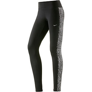 Nike Power Epic Run Flash Leggings Damen schwarz