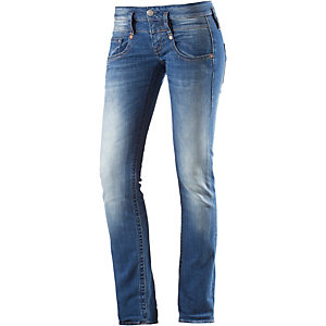 Herrlicher Pitch Skinny Fit Jeans Damen blue denim