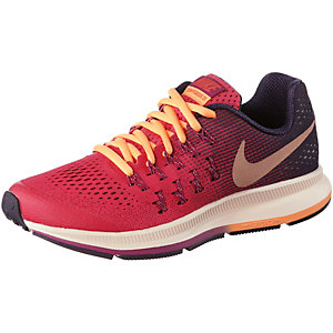 Nike Zoom Pegasus Laufschuhe Mädchen koralle/schwarz