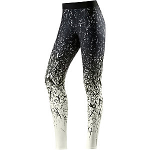 Reebok Spike Tights Damen schwarz/weiß