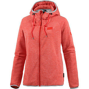 Jack Wolfskin Tongari Hooded Fleecejacke Damen orange