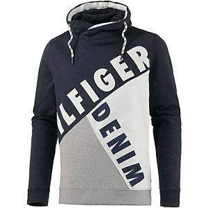 Tommy Hilfiger Sweatshirt Herren dunkelblau/weiß