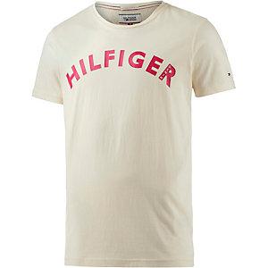 Tommy Hilfiger T-Shirt Herren ecru/rot