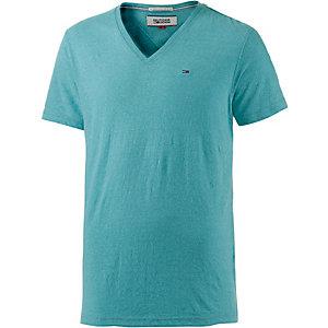 Tommy Hilfiger V-Shirt Herren türkis