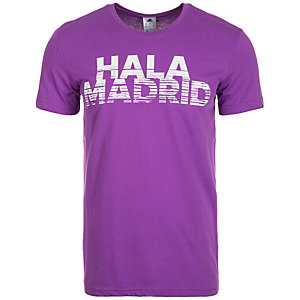 adidas Real Madrid Graphic Fanshirt Herren lila / weiß