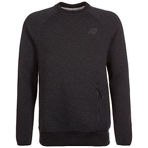 NEW BALANCE Sport Style Crew Sweatshirt Herren anthrazit / schwarz