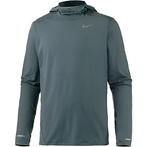 Nike Dri-Fit Element Funktionsshirt Herren grau