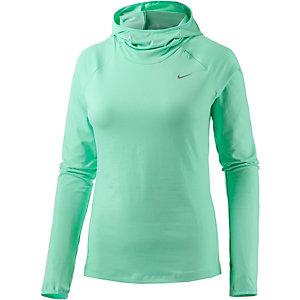 Nike Element Laufhoodie Damen türkis
