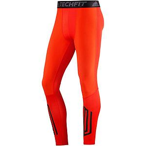 adidas Tech Fit Tough Kompressionshose Herren orange