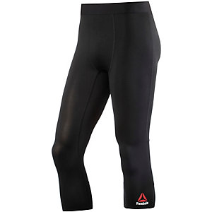 Reebok One Series Solid Tights Herren schwarz