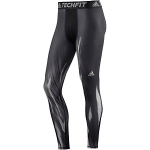 adidas Tech Fit Base Tights Herren schwarz