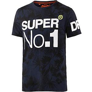 Superdry T-Shirt Herren navy