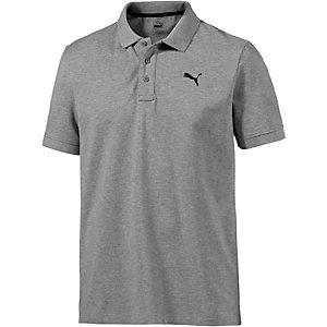 PUMA Essential Poloshirt Herren grau