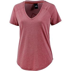 adidas IMAGE T-Shirt Damen weinrot/melange