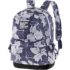 Superdry Daypack Herren blau/weiß