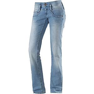 Herrlicher Pitch Straight Fit Jeans Damen light denim