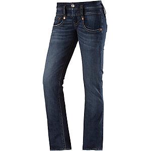 Herrlicher Pitch Straight Fit Jeans Damen blue denim