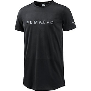 PUMA Evo Long Line Funktionsshirt Herren schwarz