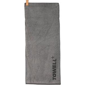 Towell+ Handtuch grau/beige