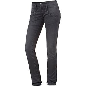 Herrlicher Pitch Skinny Fit Jeans Damen black denim