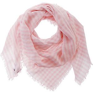 Tommy Hilfiger Schal Damen rosa/weiß