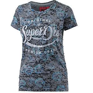 Superdry T-Shirt Damen blau