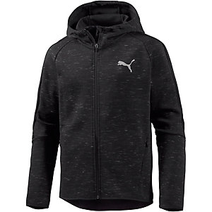 puma evostripe spaceknit sweatjacke herren schwarz im online shop von sportscheck kaufen. Black Bedroom Furniture Sets. Home Design Ideas