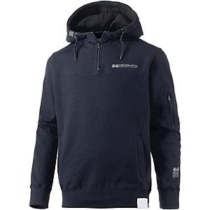 Crosshatch Sweatshirt Herren dunkelblau