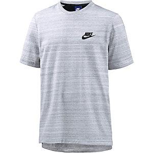 Nike AV15 T-Shirt Herren weiß/grau