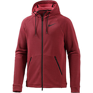 Nike Dry Hyper Funktionsjacke Herren rot