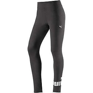 PUMA Essential Leggings Damen dunkelgrau/melange