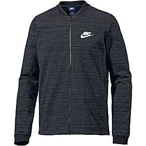 Nike AV15 Sweatjacke Herren schwarz