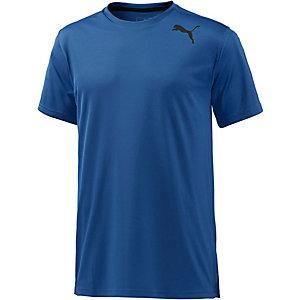PUMA Essential Funktionsshirt Herren blau