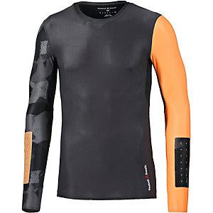 Reebok Crossfit Kompressionsshirt Herren anthrazit/orange