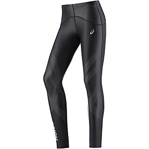 ASICS Finish Advantage Lauftights Damen schwarz