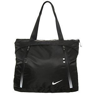 Nike Auralux Tote Sporttasche Damen schwarz / weiß
