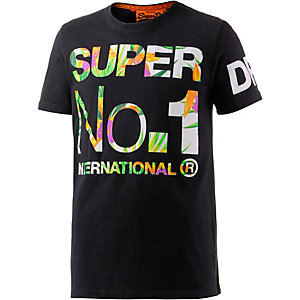 Superdry T-Shirt Herren navy/bunt