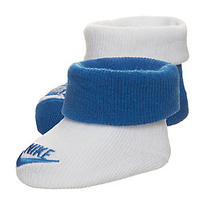 Nike Futura Babysocke Kinder blau / weiß