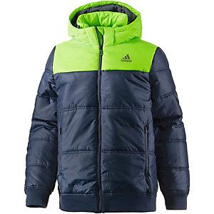 adidas Better Winterjacke Herren anthrazit/limette