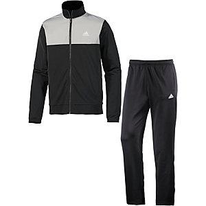 adidas Back2Basic Trainingsanzug Herren schwarz