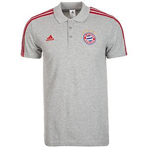 adidas FC Bayern München Fanshirt Herren grau / rot