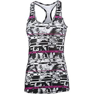 PUMA Essential Tanktop Damen schwarz/weiß/pink