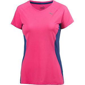 PUMA Core Run Laufshirt Damen pink/blau