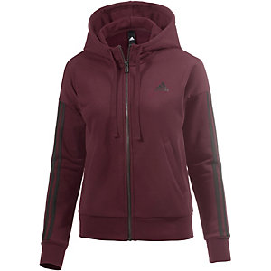 adidas Essentials Sweatjacke Damen weinrot