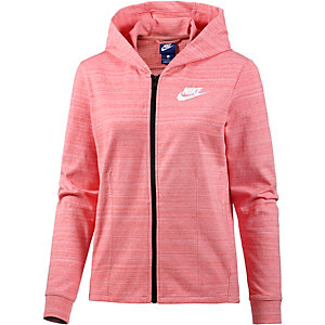 nike advanced knit sweatjacke damen pink im online shop. Black Bedroom Furniture Sets. Home Design Ideas
