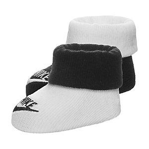 Nike Futura Babysocke Kinder schwarz / weiß