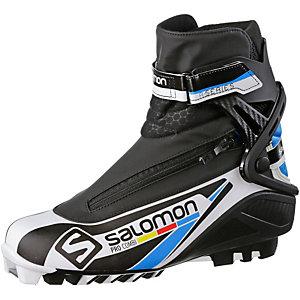 Salomon Pro Combi SNS Langlaufschuhe schwarz/weiß